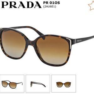 f1006fa7da Prada Pro01OS Tortoise Polarized Sunglasses
